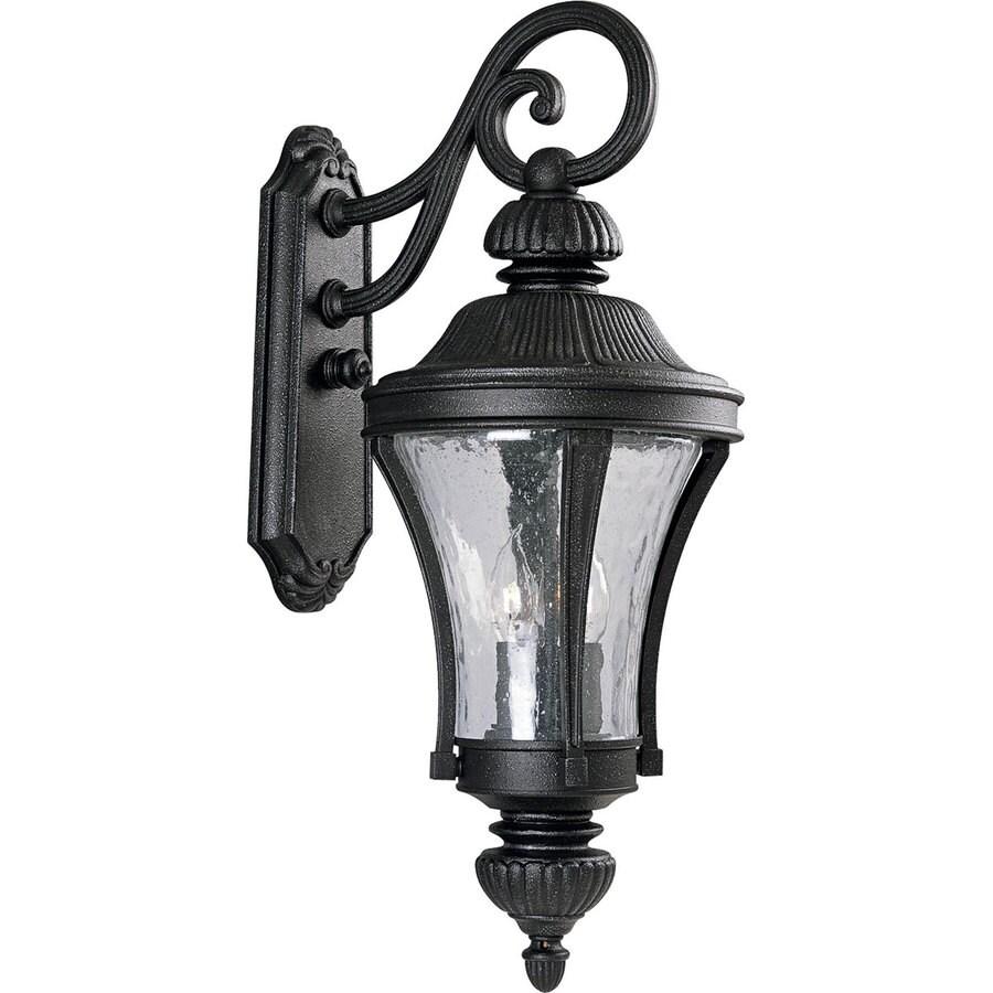 Progress Lighting Nottington 26-in H Gilded Iron Outdoor Wall Light