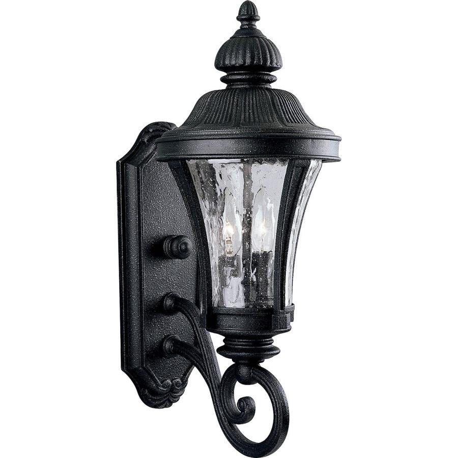 Progress Lighting Nottington 19.62-in H Gilded Iron Outdoor Wall Light