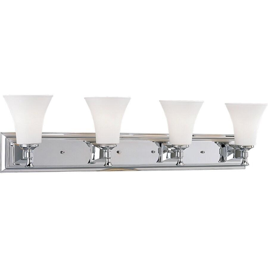 Progress Lighting Fairfield 4-Light Chrome Bell Vanity Light
