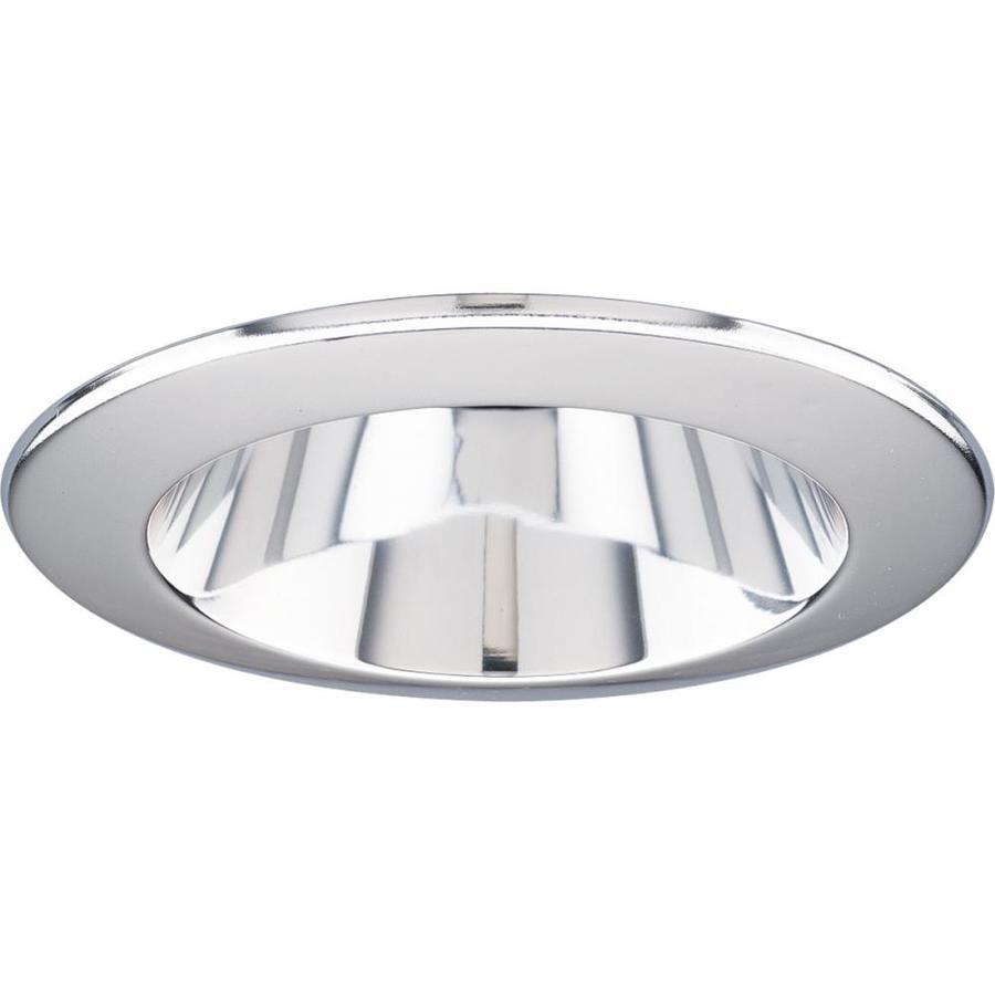 Progress Lighting Clear Alzak Reflector Recessed Light Trim (Fits Housing Diameter: 4-in)