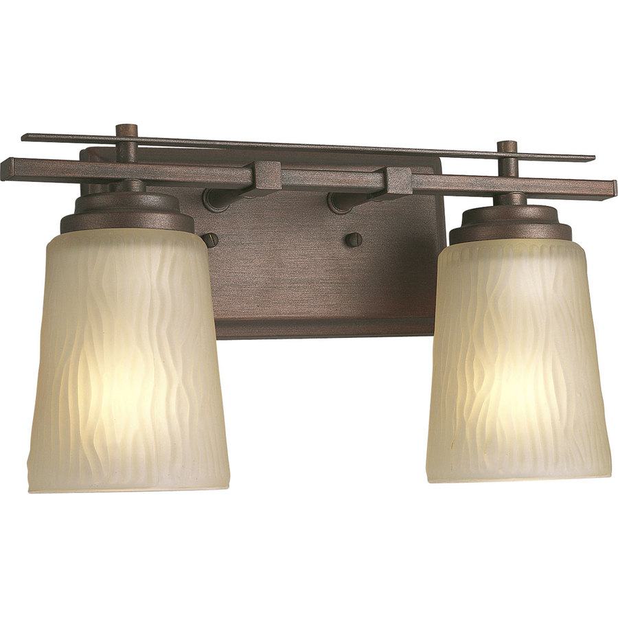 Progress Lighting Riverside 2-Light Heirloom Cylinder Vanity Light