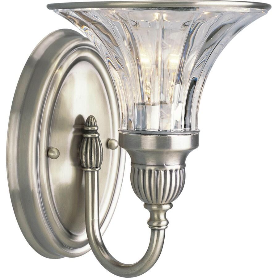 Progress Lighting Roxbury 1-Light Classic Silver Bell Vanity Light