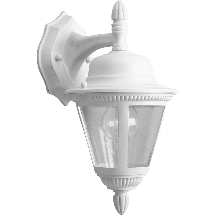 Progress Lighting Westport 12.75-in H White Outdoor Wall Light