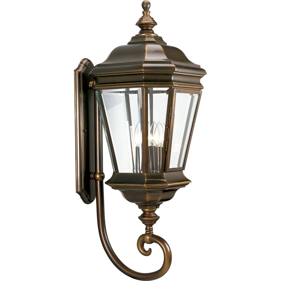Progress Lighting Crawford 32.75-in H Oil Rubbed Bronze Outdoor Wall Light