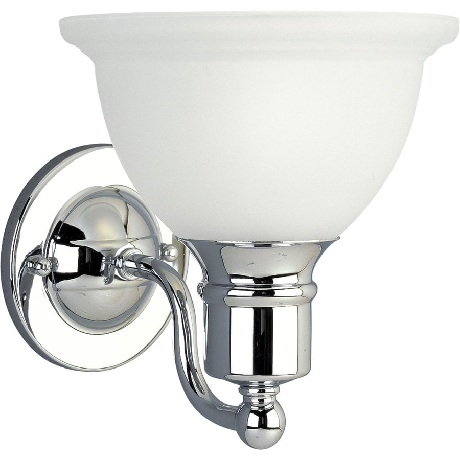 Progress Lighting Madison 1-Light Polished Chrome Bowl Vanity Light
