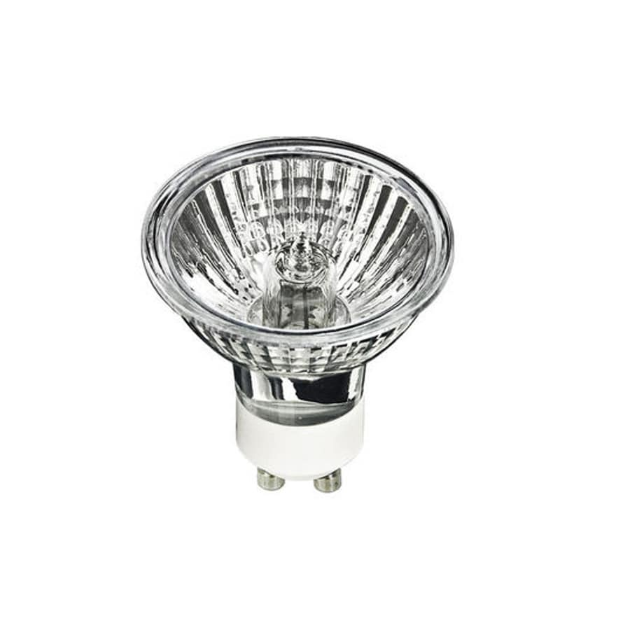 Shop Progress Lighting 50 Watt Mr16 Gu10 Pin Base Bright White Dimmable Halogen Flood Light Bulb