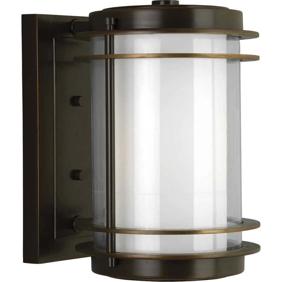 Progress Lighting Penfield 11.75-in H Oil Rubbed Bronze Outdoor Wall Light