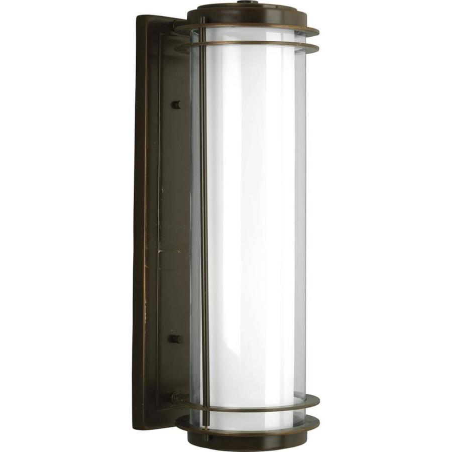 Progress Lighting Penfield 24-in H Oil Rubbed Bronze Outdoor Wall Light