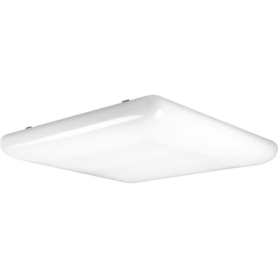 Progress Lighting Flush Mount Shop Light (Common: 2-ft; Actual: 27.25-in x 30.75-in)