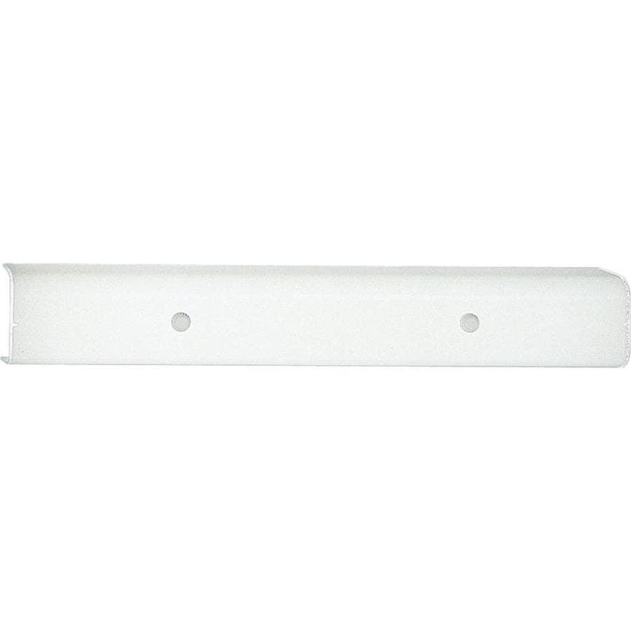 Progress Lighting 4-Light White Rectangle Vanity Light
