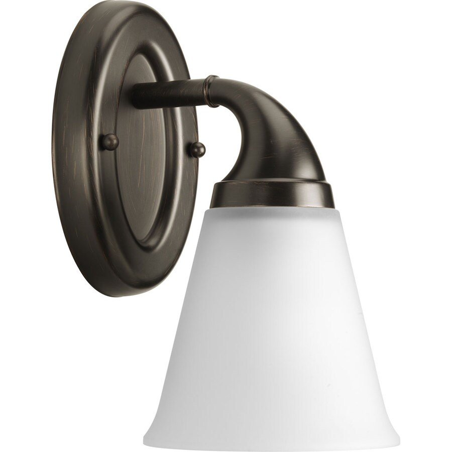 Progress Lighting Lahara 1-Light Venetian Bronze Bell Vanity Light
