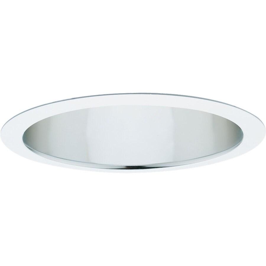 Progress Lighting Clear Alzak Open Recessed Light Trim (Fits Housing Diameter: 6-in)