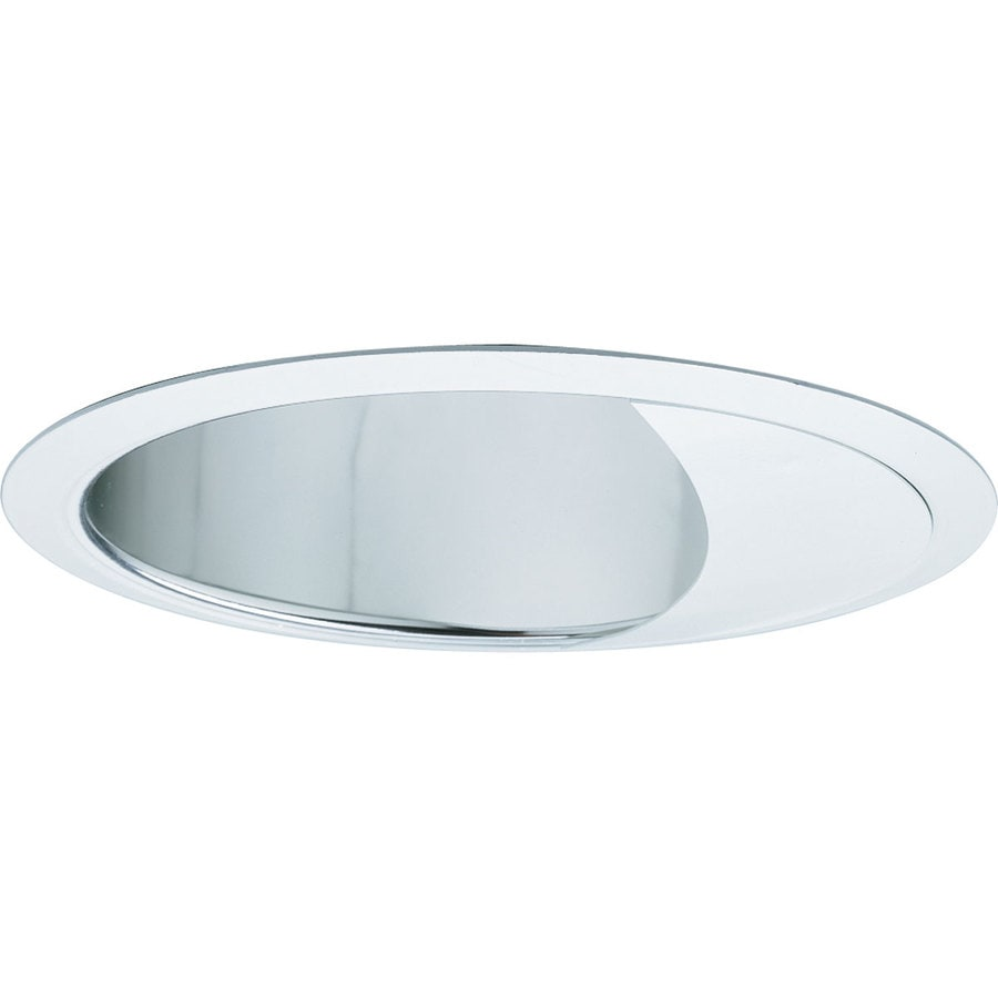 Progress Lighting Clear Alzak Wall Wash Recessed Light Trim (Fits Housing Diameter: 6-in)