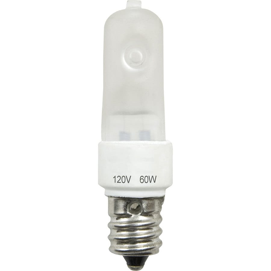 Shop Progress Lighting 60 Watt T4 Candelabra Base E 12 Bright White Dimmable Incandescent
