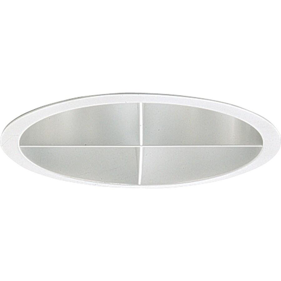 Progress Lighting Pro-Optic Clear Alzak Open Recessed Light Trim (Fits Housing Diameter: 8-in)