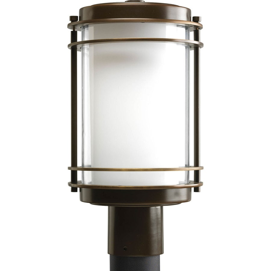 Progress Lighting Penfield 14.75-in H Oil-Rubbed Bronze Post Light