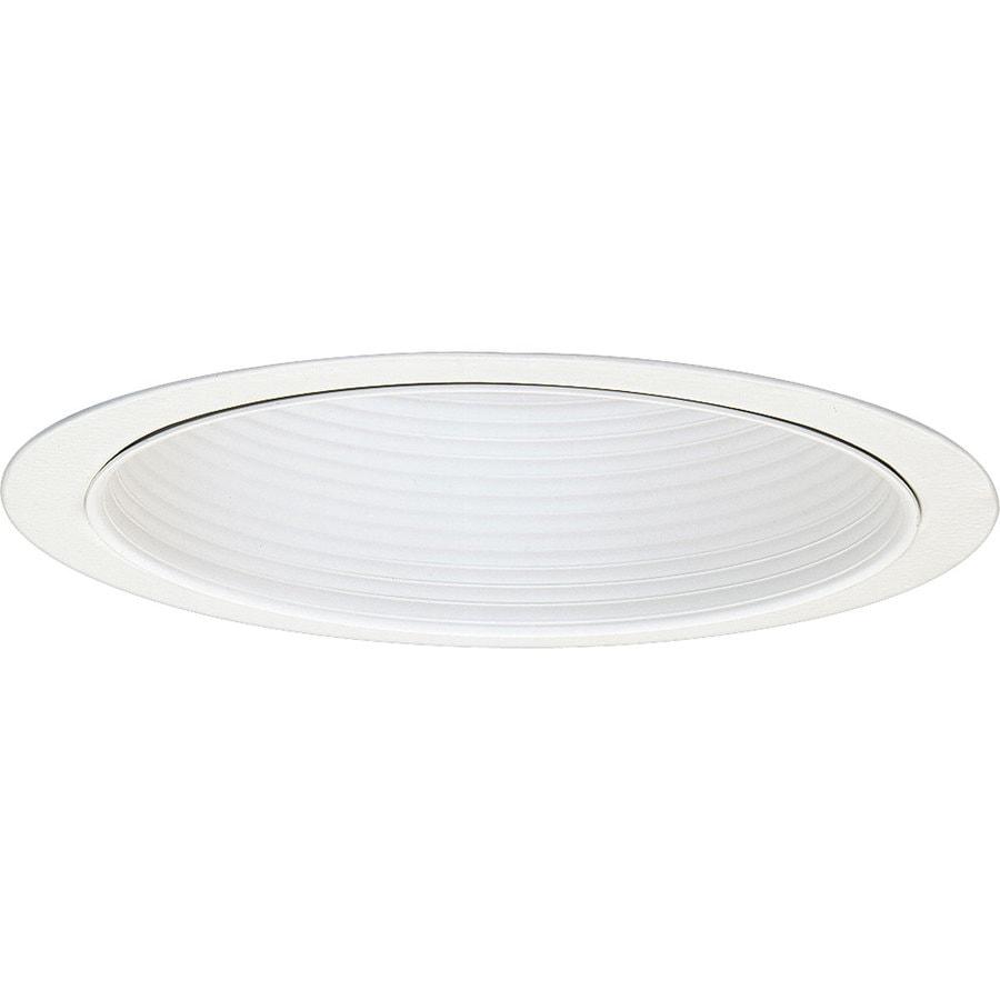 Progress Lighting Pro-Optic White Baffle Recessed Light Trim (Fits Housing Diameter: 8-in)