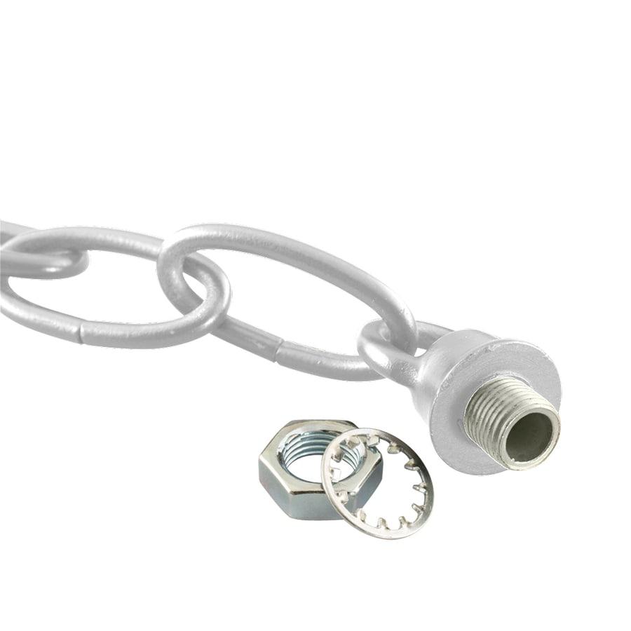 Progress Lighting 0.8-ft Brushed Nickel Lighting Chain