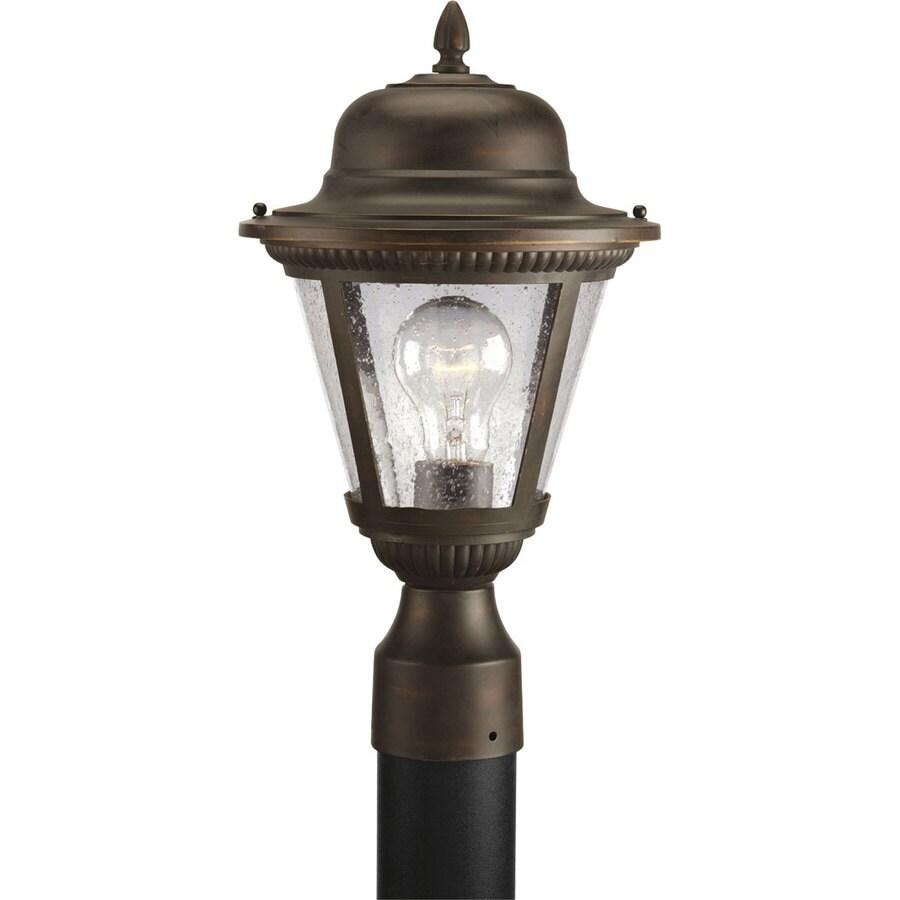 Progress Lighting Westport 16.37-in H Antique Bronze Post Light