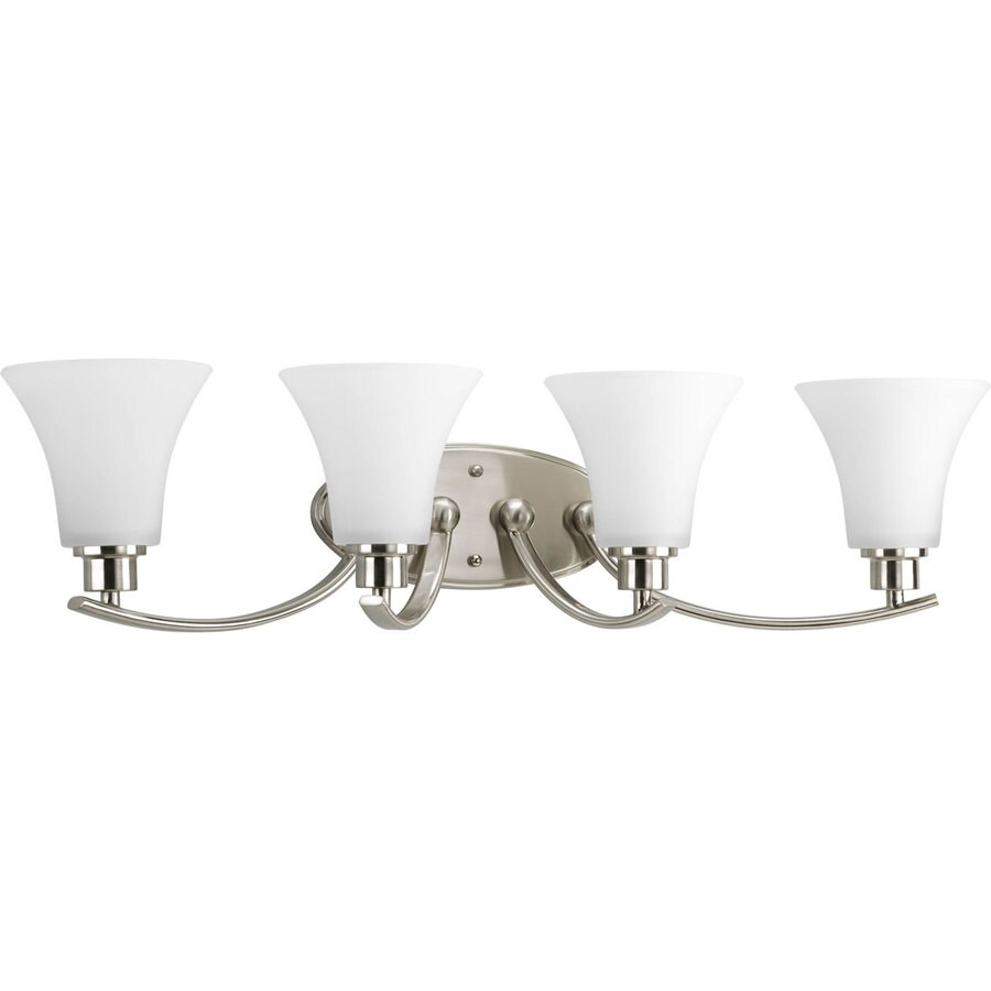 Shop Progress Lighting Joy 4 Light Brushed Nickel At