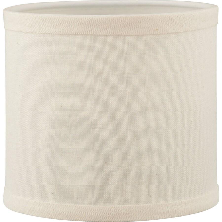 Progress Lighting 4.75-in x 5.5-in Beige Linen Chandelier Lamp Shade