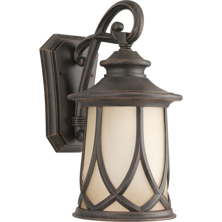 Progress Lighting Resort 15.87-in H Aged Copper Outdoor Wall Light