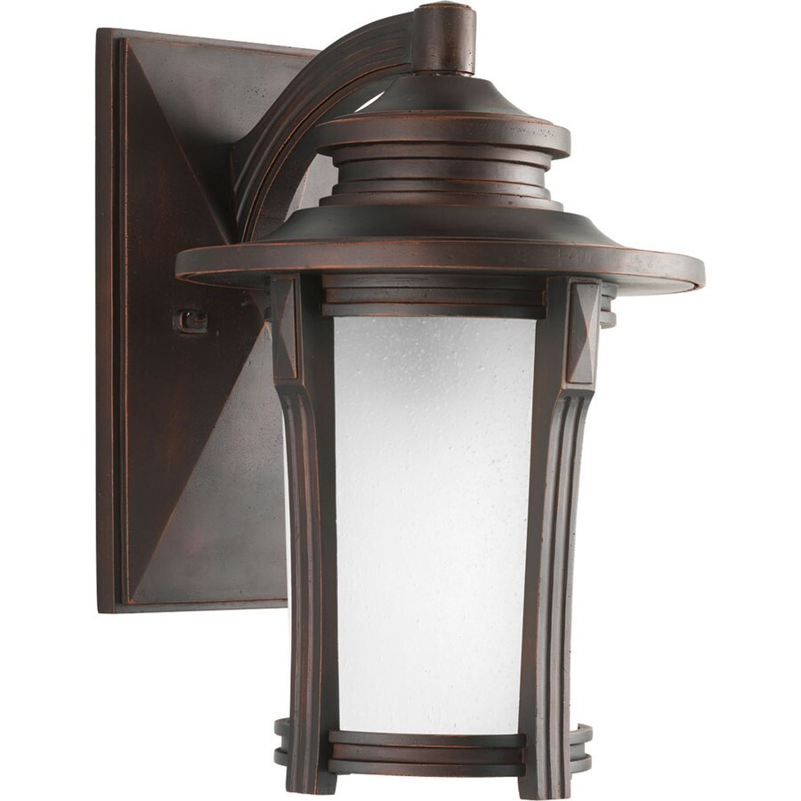 Progress Lighting Pedigree 13.37-in H Autumn Haze Outdoor Wall Light