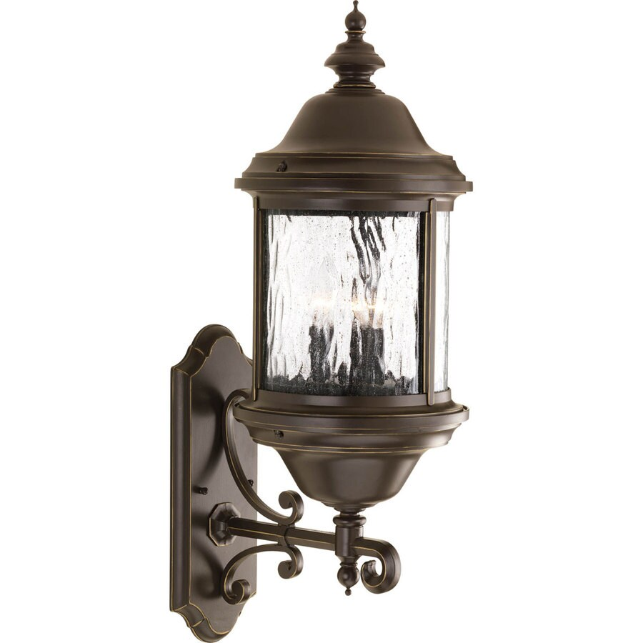 Progress Lighting Ashmore 28-in H Antique Bronze Outdoor Wall Light