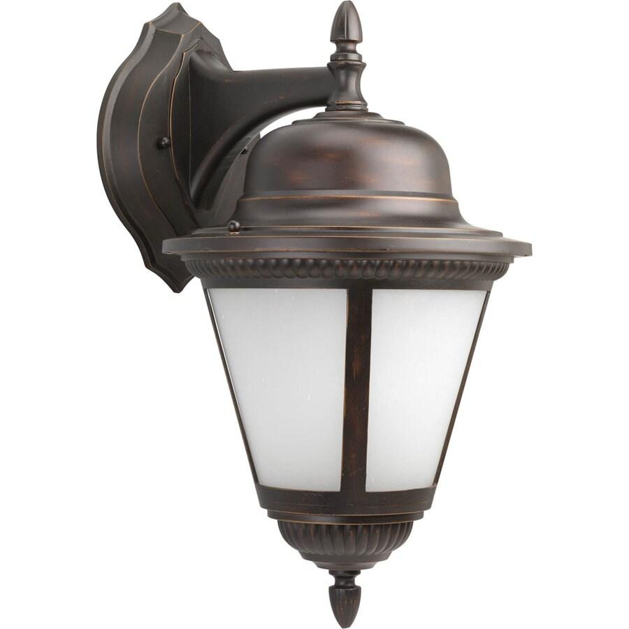 Progress Lighting Westport 18.75-in H Antique Bronze Outdoor Wall Light ENERGY STAR