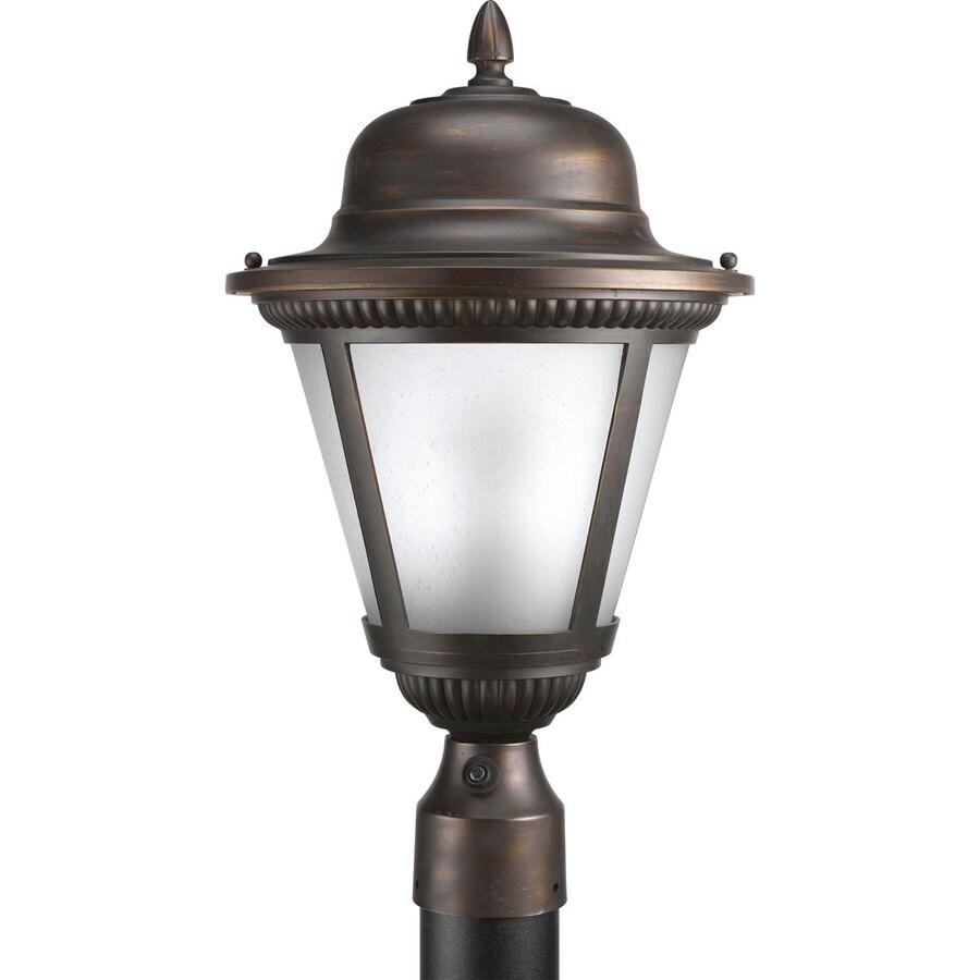 Progress Lighting Westport 19-in H Antique Bronze Post Light