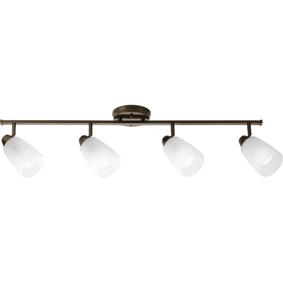 shop progress lighting wisten 4 light 40 in antique bronze. Black Bedroom Furniture Sets. Home Design Ideas