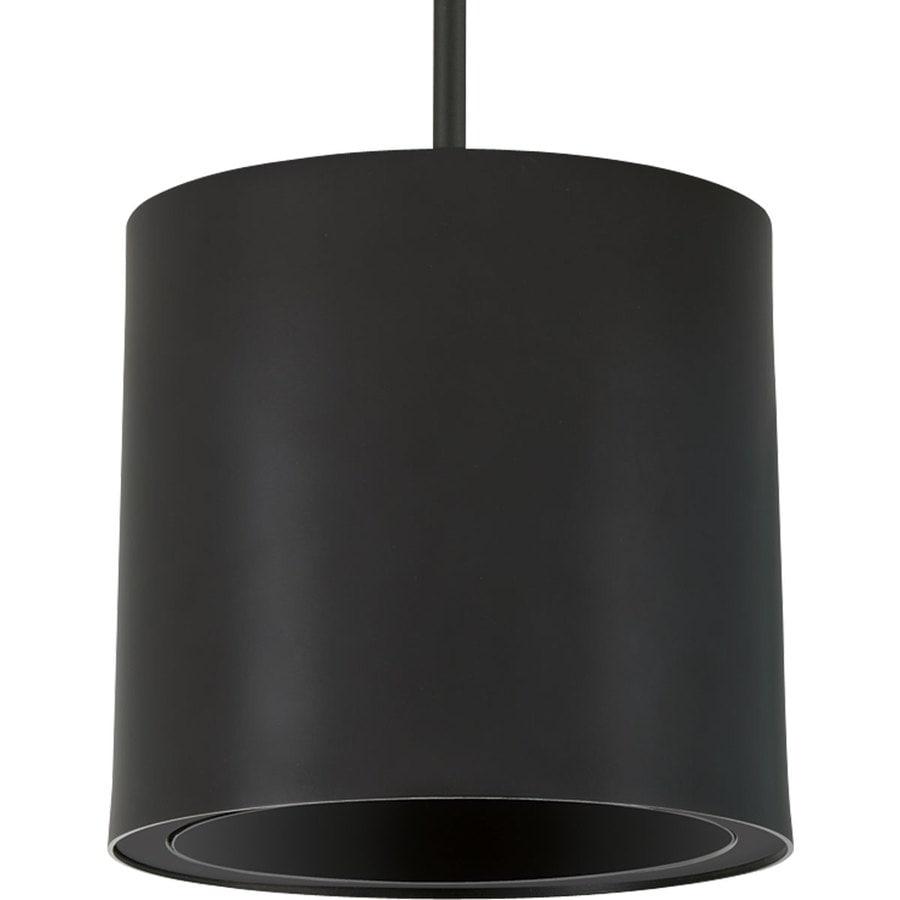 Progress Lighting 7.37-in H Led Black Outdoor Wall Light