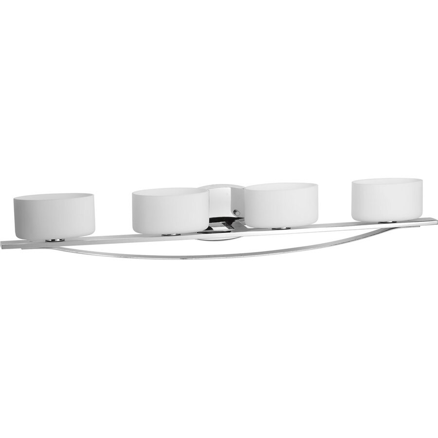 Http Www Lowes Com Pd Progress Lighting 4 Light Arise Polished Chrome Bathroom Vanity Light 50130786