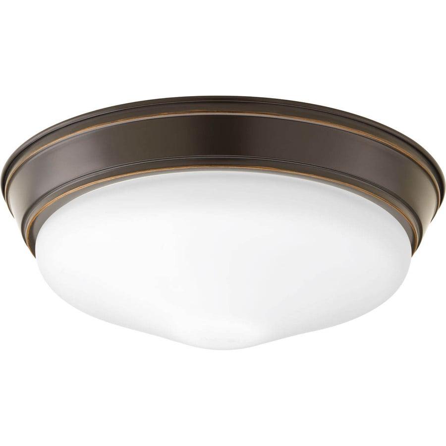flush mount w antique bronze led ceiling flush mount light at. Black Bedroom Furniture Sets. Home Design Ideas