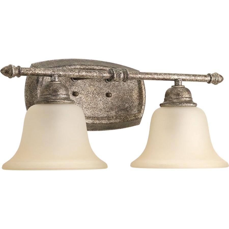Progress Lighting Spirit 2-Light Pebbles Bell Vanity Light