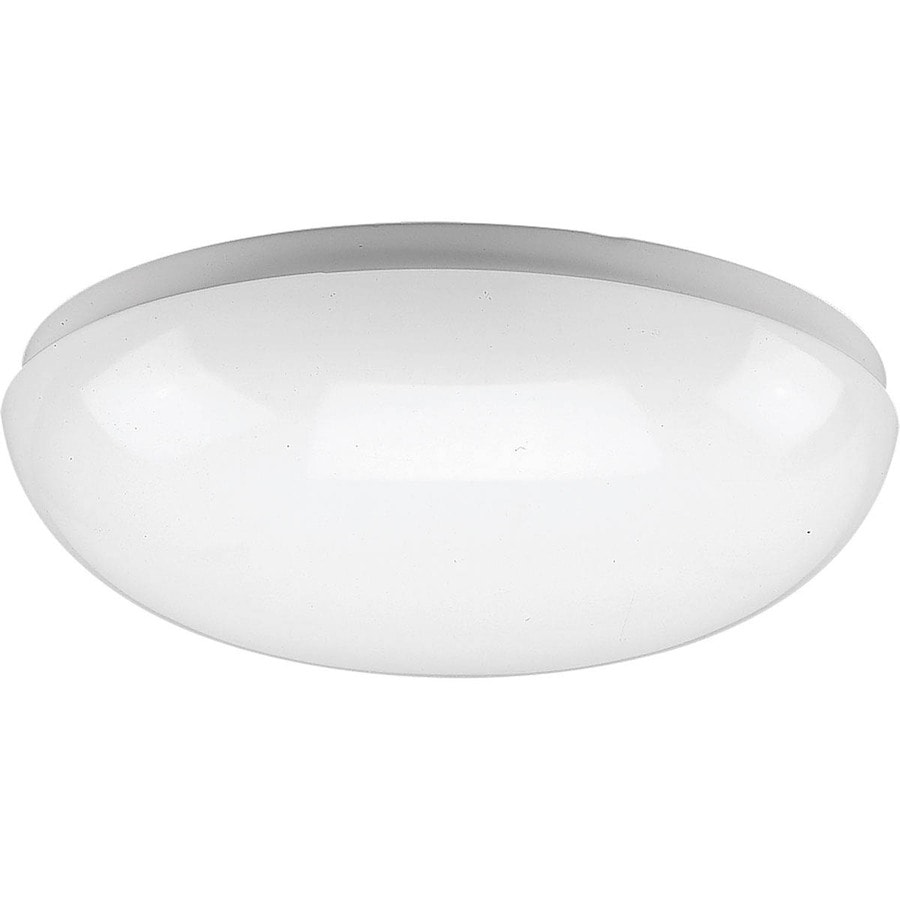 Shop progress lighting round clouds w white led for Round bathroom light fixtures
