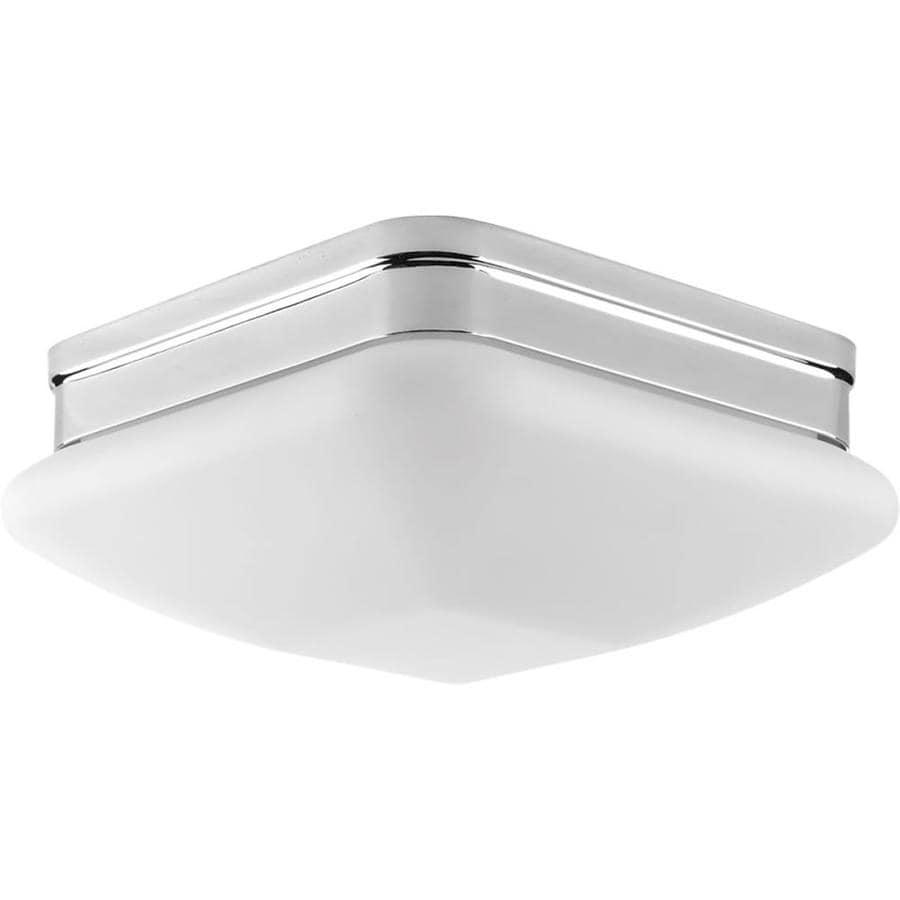 Progress Lighting Appeal 9-in W Polished Chrome Ceiling Flush Mount Light