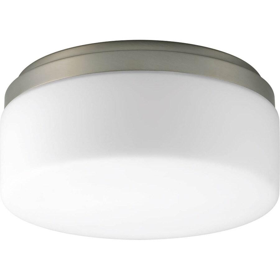 Progress Lighting Maier LED 9-in W Brushed Nickel LED Ceiling Flush Mount Light