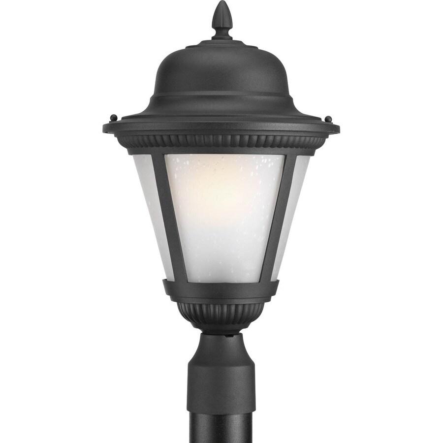 Progress Lighting Westport 16.25-in H Textured Black Integrated Led Post Light