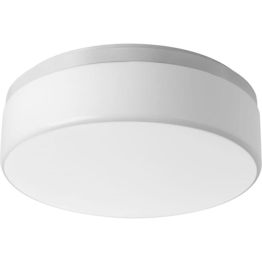 Progress Lighting Maier LED 14-in W White LED Ceiling Flush Mount Light