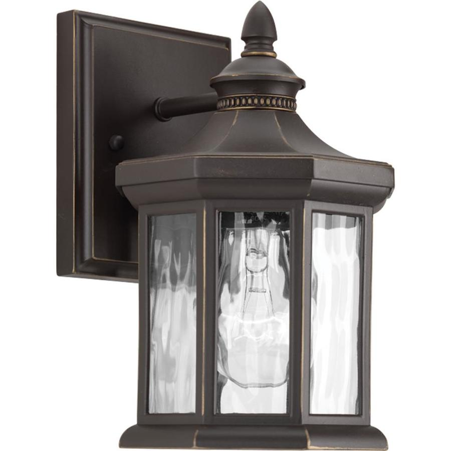 Progress Lighting Edition 9.125-in H Antique Bronze Outdoor Wall Light