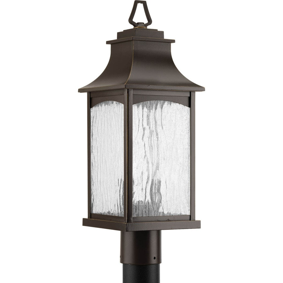 Progress Lighting Maison 20.625-in H Oil-Rubbed Bronze Post Light