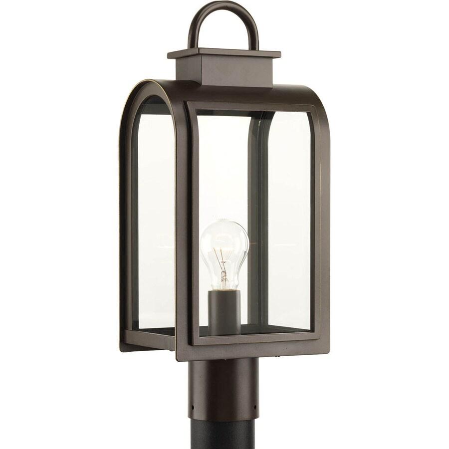 Progress Lighting Refuge 18.625-in H Oil-Rubbed Bronze Post Light