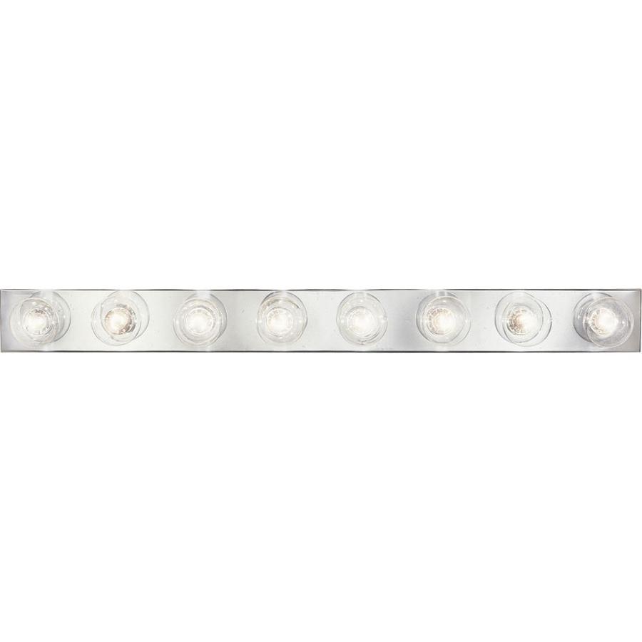 Progress Lighting Broadway 8-Light Polished Chrome Rectangle Vanity Light