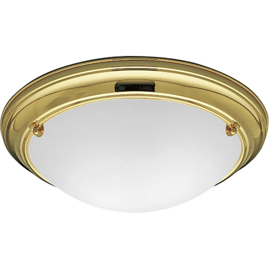 Shop Progress Lighting Eclipse 15 25 In W Polished Brass