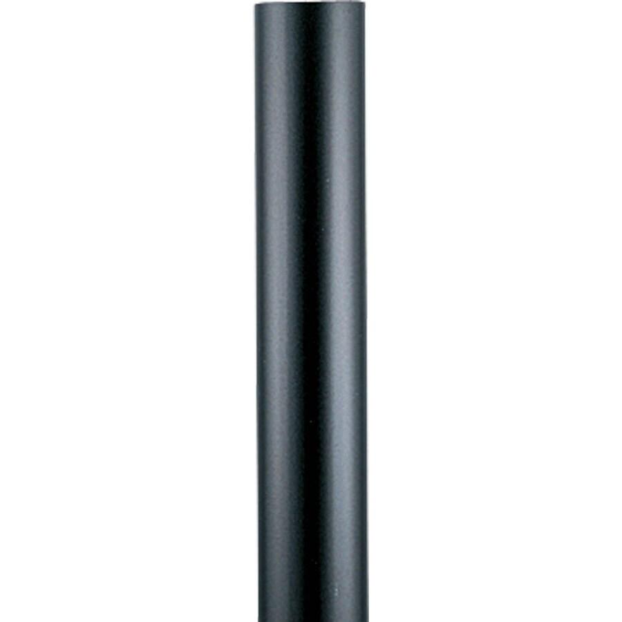 Progress Lighting Black 84-in Post Light Pole