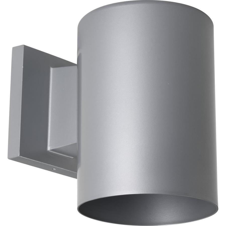 Progress Lighting 7.25-in H Metallic Gray Dark Sky Outdoor Wall Light