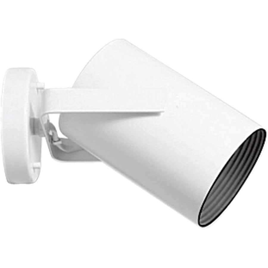 Progress Lighting Directional 5-in W 1-Light White Directional Hardwired Wall Sconce