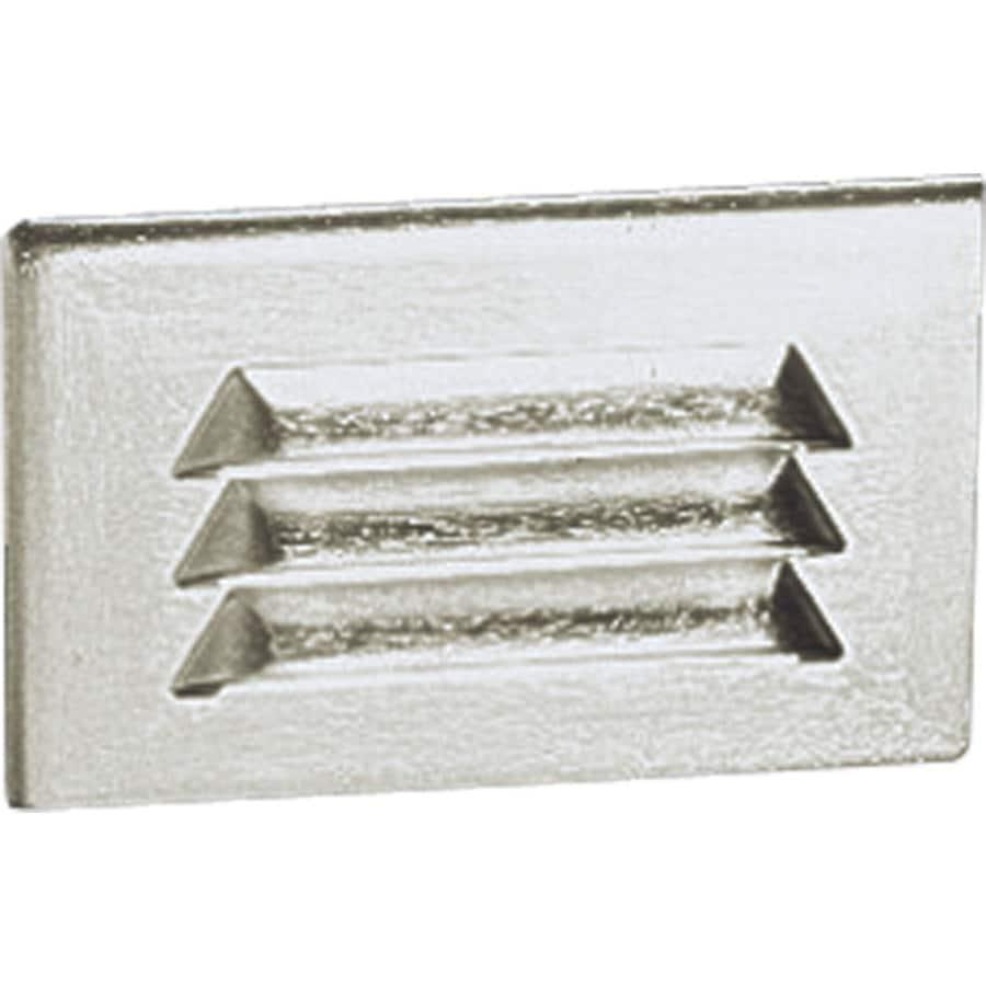 Progress Lighting Satin Aluminum Recessed Light Kit (Fits Opening: 7-in)