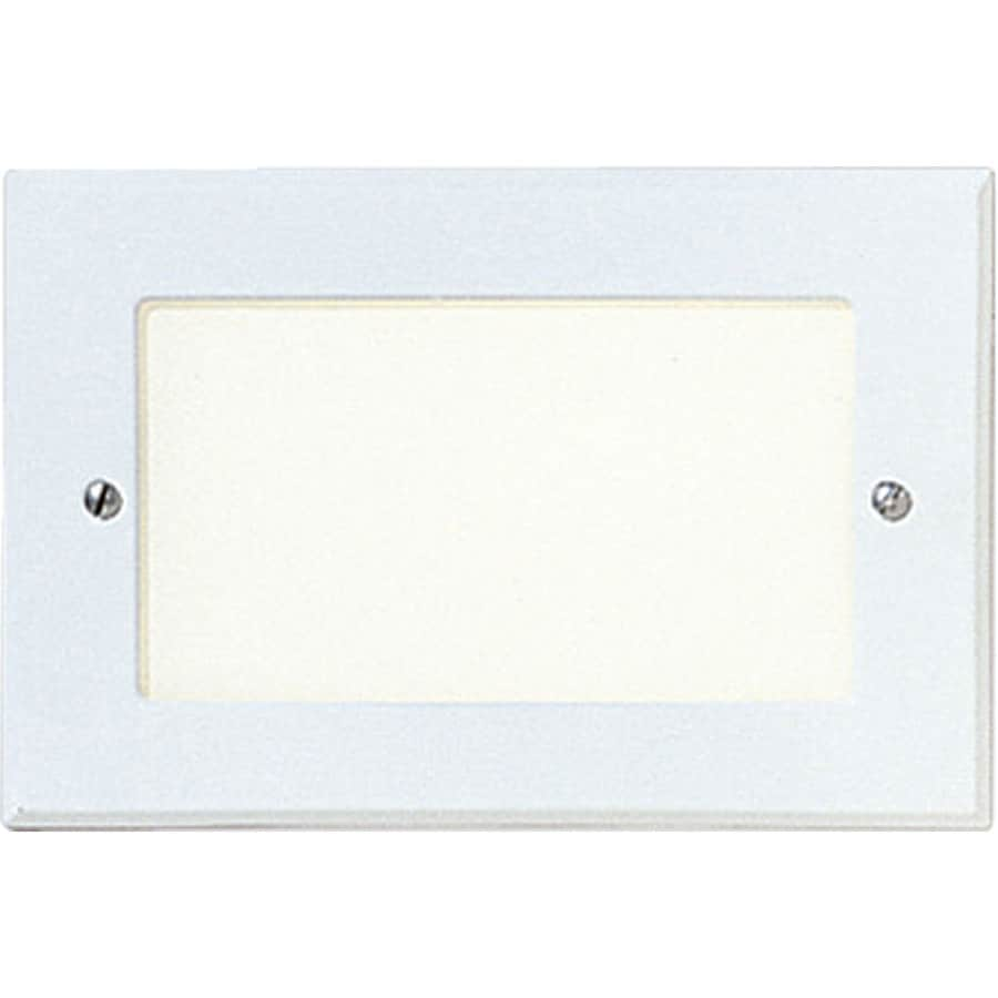 Shop Progress Lighting White Recessed Light Kit Fits Opening 8 In At Lowes